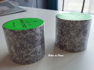 Masking tape à colorier Colouring Activity Rico Design (Creavea)