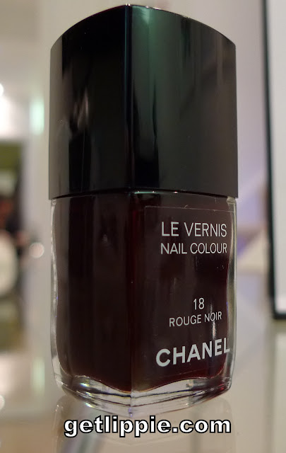 an old favourite chanel rouge noir get lippie. Black Bedroom Furniture Sets. Home Design Ideas