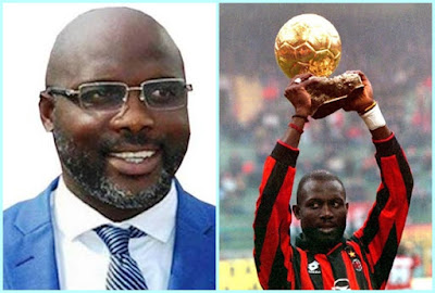 """Africa's only """"World Best Footballer"""" George Weah wins Liberia Presidential Election"""
