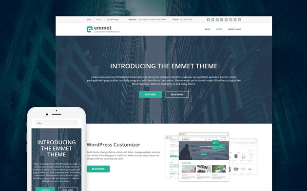 Best Responsive Business Website Theme