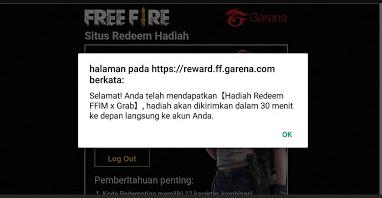 Kode Redeem Free Fire 17 Maret 2019 Terbaru