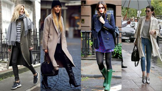 casacos para dia de chuva
