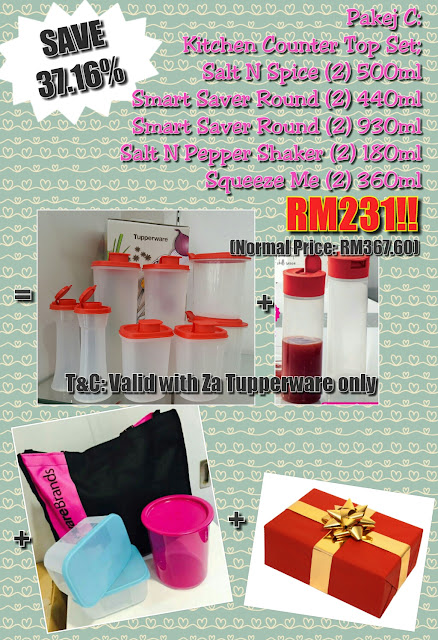 Tupperware Membership Package July - August 2016