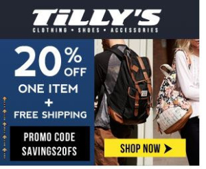 4496a2367fbed 36% Off Tillys Promo Code   Coupon Codes