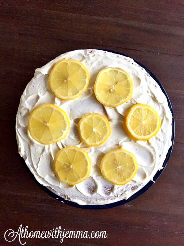 Homemade Lemon Cake & Lemon Frosting