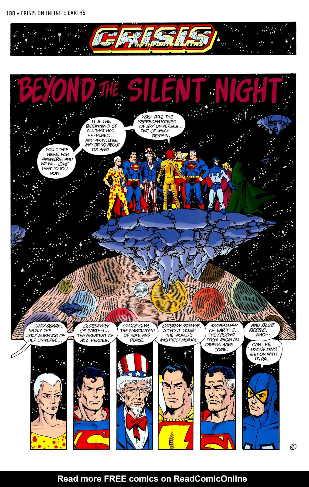 Read online Crisis on Infinite Earths (1985) comic -  Issue # _Absolute Edition 2 - 8