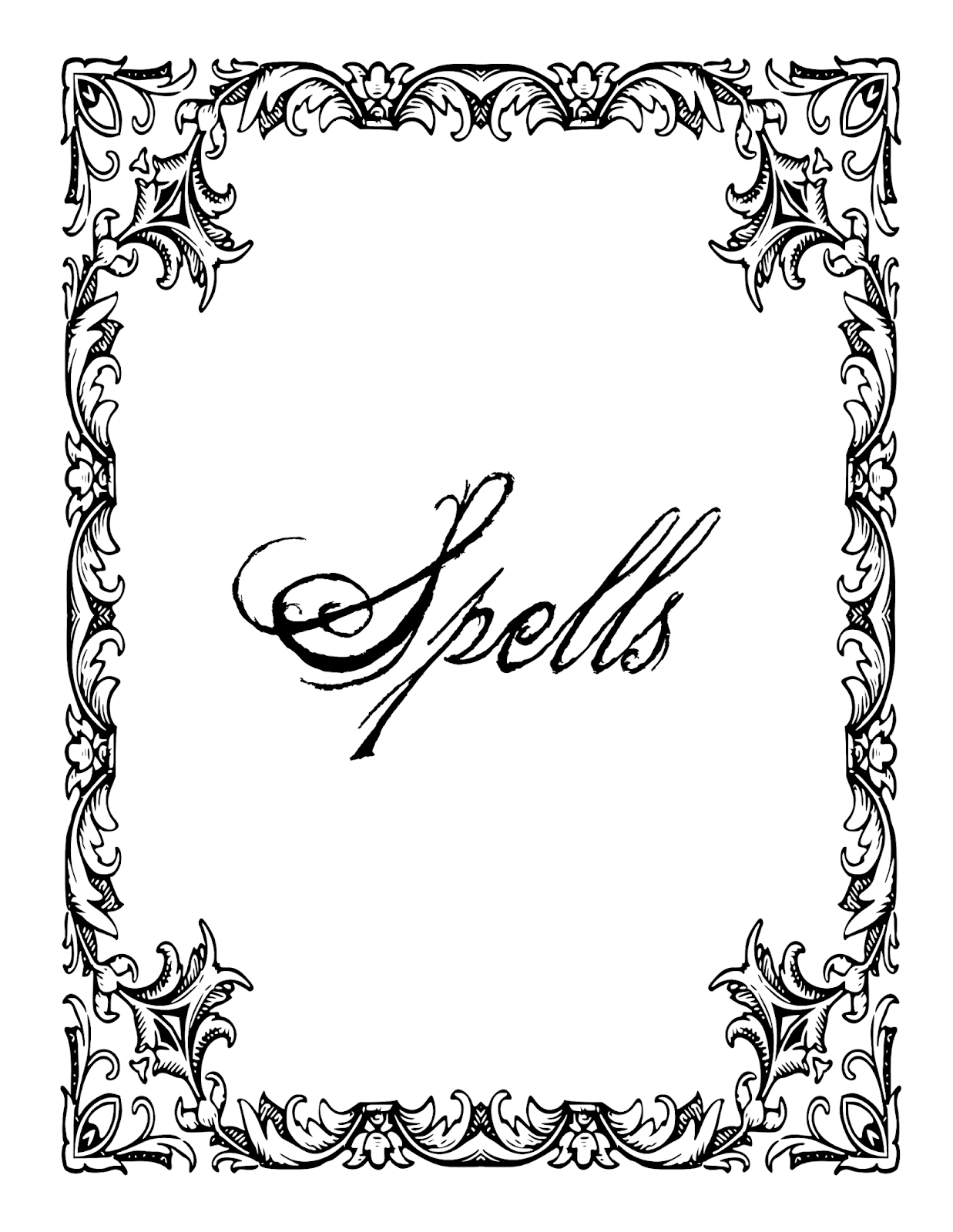 Build A Book Of Shadows Book Of Shadows Pages