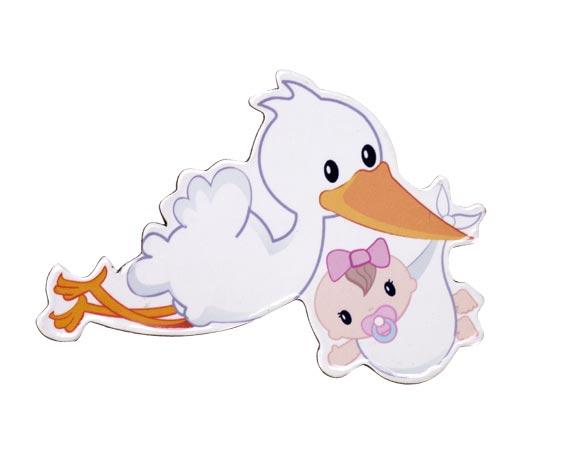 Imagen De Bebé Con Cigueña