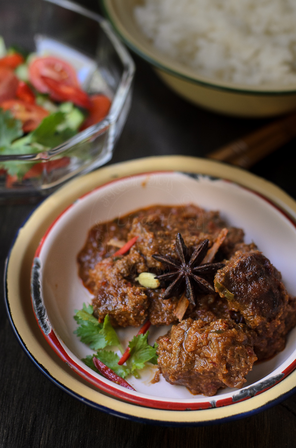 Terengganu Daging Kerutub / Terengganu Mild Beef Rendang