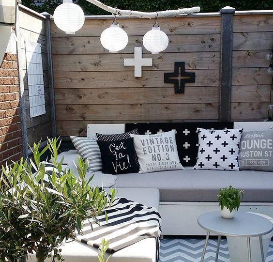 7 ideas para decorar tu terraza desde cero boho deco chic for Idea deco plantas terraza