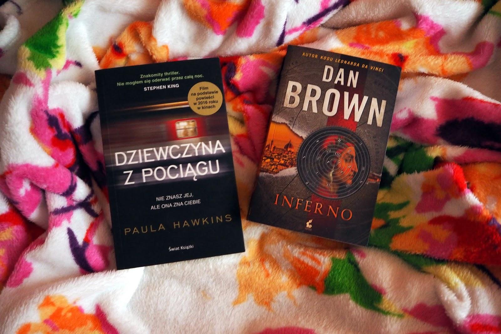 Książka vs Ekranizacja / Dziewczyna z pociągu & Inferno