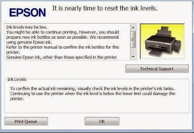 Cara Reset Printer Epson L Series  Secara Manual Tanpa Software