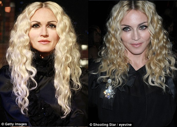 photo of MADONNA waxwork