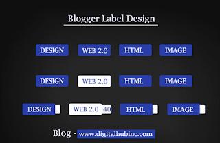 10) كيفية تصميم ازرار احترافية لمدونتك