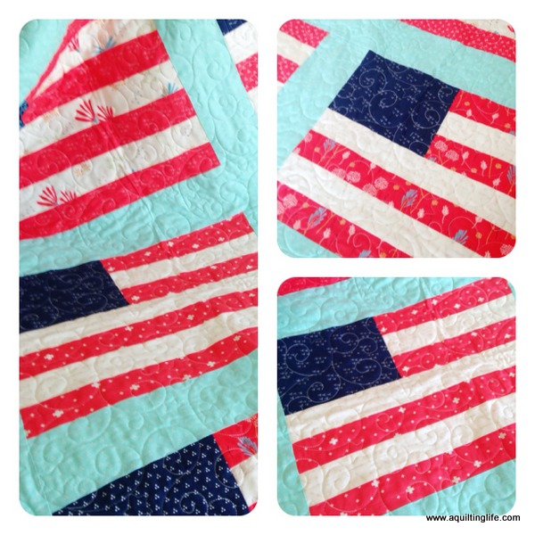 Stars and Stripes Quilt: Finished! | A Quilting Life - a quilt blog : stars and stripes quilt - Adamdwight.com