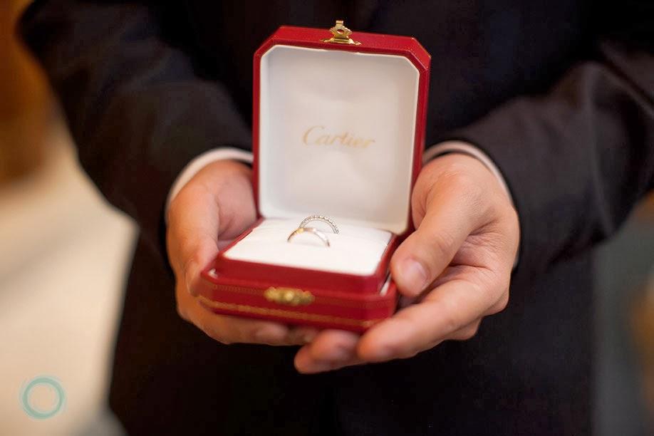 Najnowsze Not Just Another Bride: Obraczki od Cartier JB68