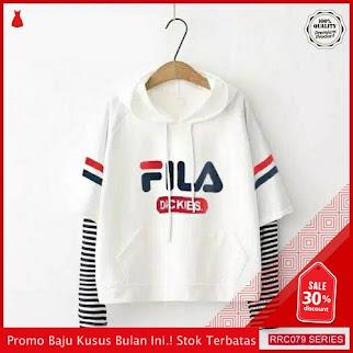 RRC079S22 Sweater Terbaru Hodie Fila Dikies Wanita Terbaru BMGShop