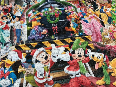 Disney Christmas jigsaw puzzle from Ravensburger