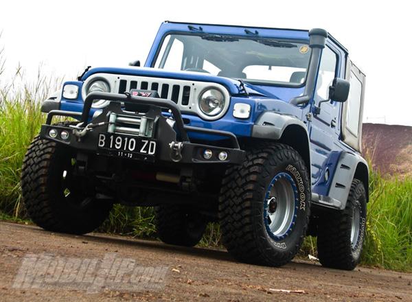 Sejarah Mobil Jimmny: Modifikasi Jeep Kebo Menjadi Rubicon
