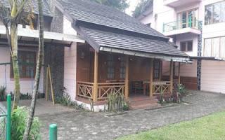 villa untuk menyelenggarakan acara keluarga besar di lembang