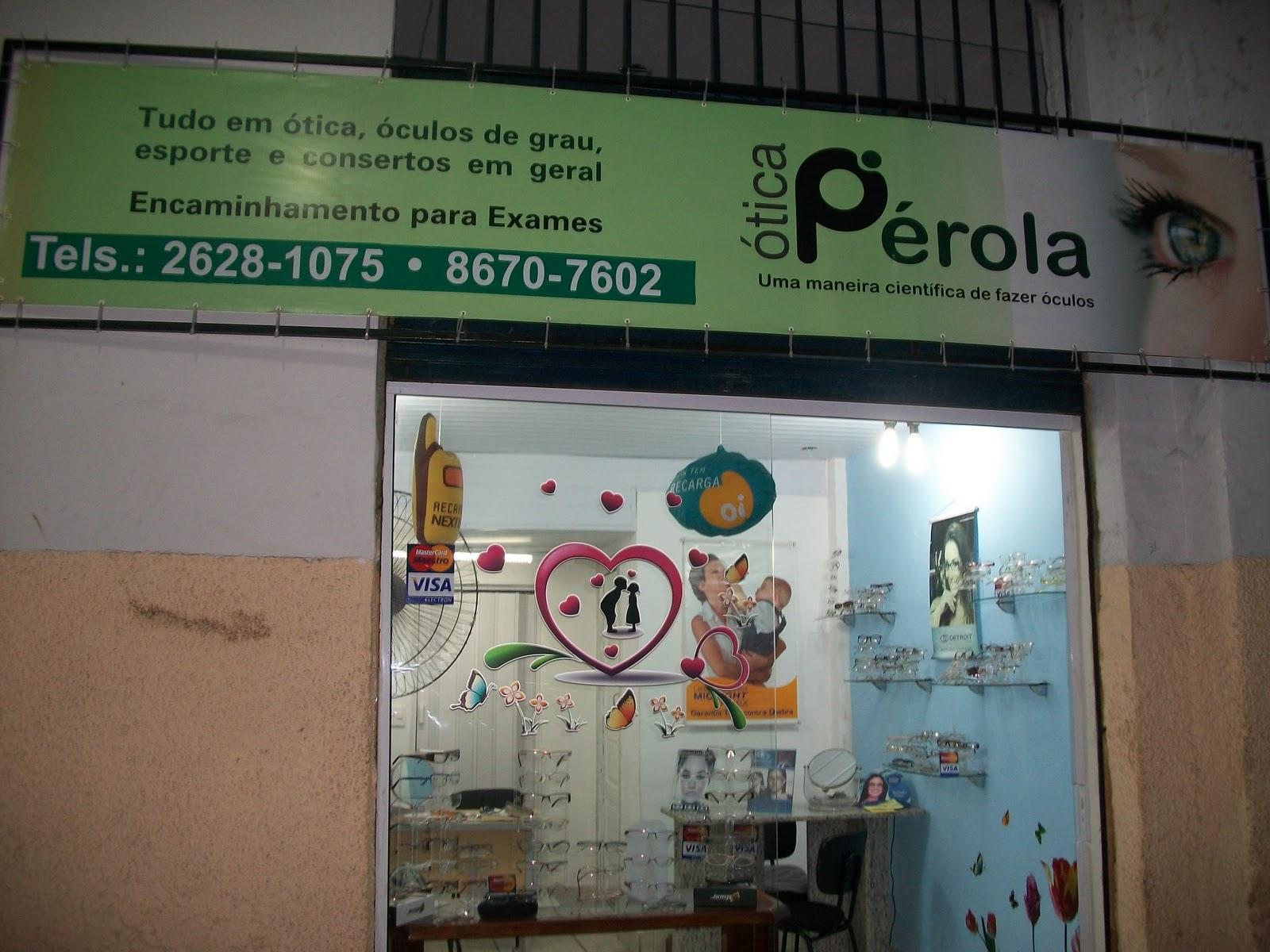 78713bc413e1e ÓTICA PÉROLA - Rua Dr. Porciúncula