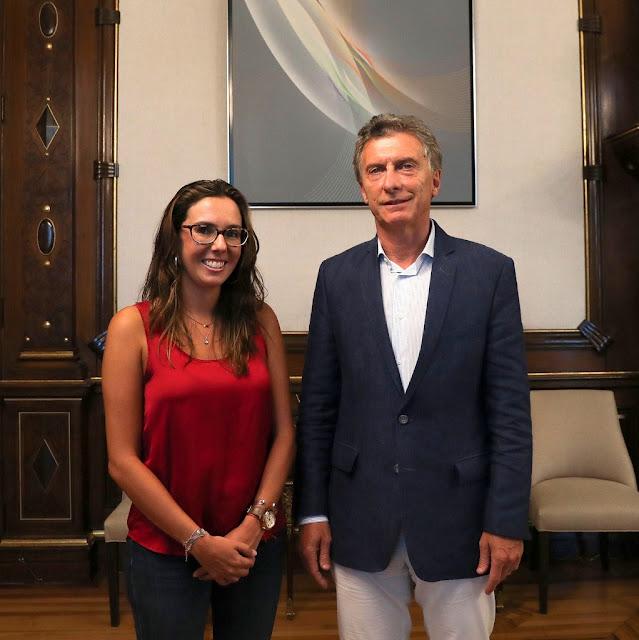 Macri recibió a la representante enviada por el presidente encargado de Venezuela