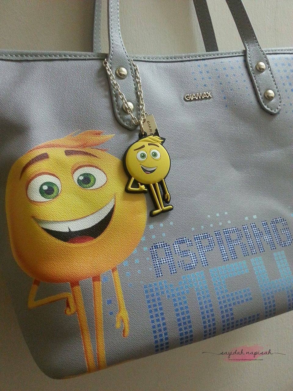GIAMAX X THE EMOJI MOVIE INSPIRING MEH TOTEBAG