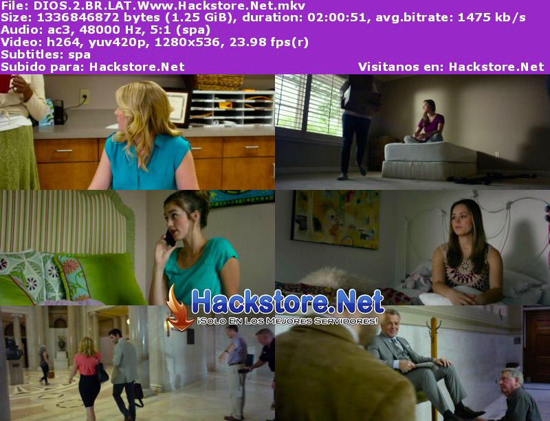 Capturas de Dios no está muerto 2 (2016) Blu-Ray RIP HD Latino + Subs