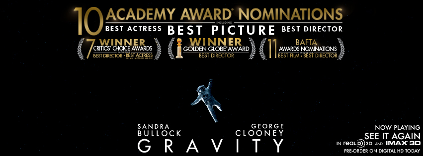 gravity bafta nominations
