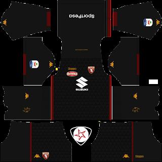 Torino FC 2018 - 2019 GK Home Kit