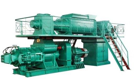 Brick making machine: Brick extruder