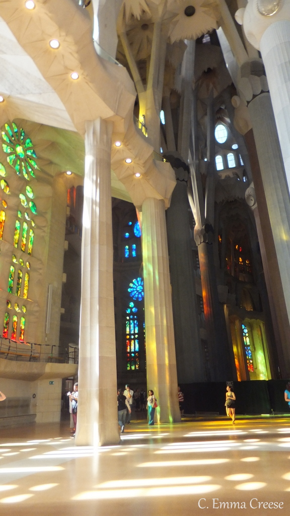U Sofa Microfiber Sofas And Loveseats The Sagrada Familia, Barcelona #travelthursdays ...