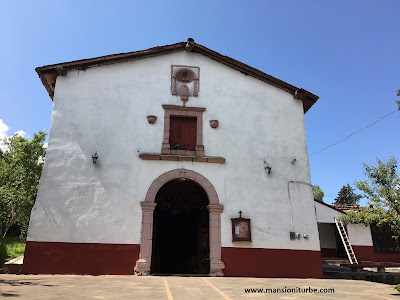 Guadalupe Chapel in Tzintzuntzan, Michoacán