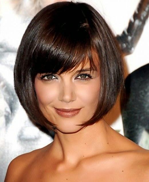 Excellent Hairstyles And Women Attire Katie Holmes39 Short Bob Hair Style Short Hairstyles Gunalazisus