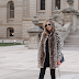 Faux Fur Leopard Coat - Chic Winter Outfit