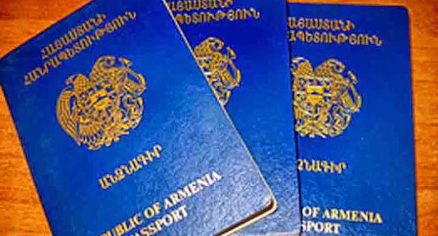 Armenia quita pasaportes diplomáticos a notables y sus familiares