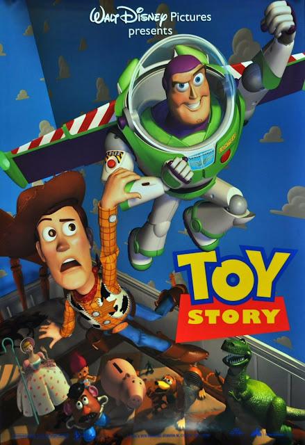 Cartel película de Pixar Animation Studios Toy Story