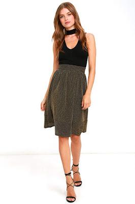 Faldas de moda para adolescentes