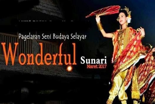 "Event Wisata Budaya, ""Wonderful Sunari""  Di  Gelar  18 Maret 2017, selayar"