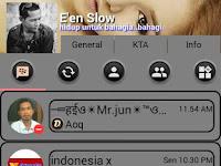 BBM Mod Theme Grey UNCLONE Apk v3.0.1.25 Terbaru
