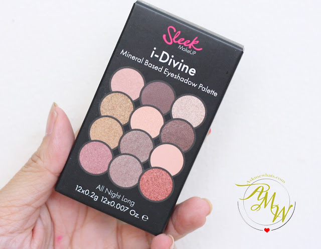a photo of Sleek Makeup I-divine Mineral Based Eyeshadow Palette in All Night Long