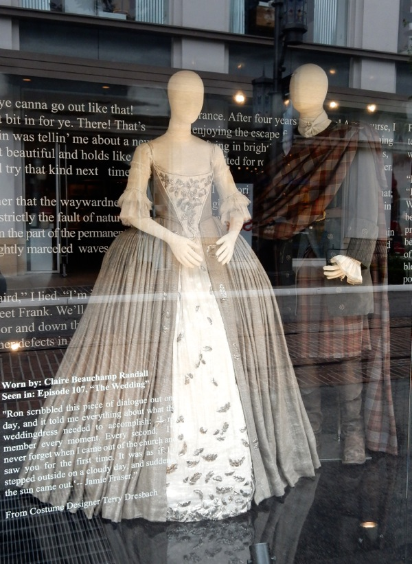 Claire's Wedding Dress