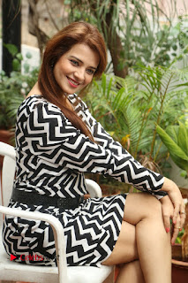 Actress Saloni Latest Pos in Short Dress  0207.JPG