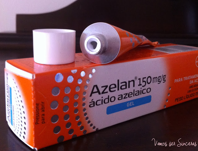 Azelan - Ácido Azelaico para tratamento da acne e das manchas