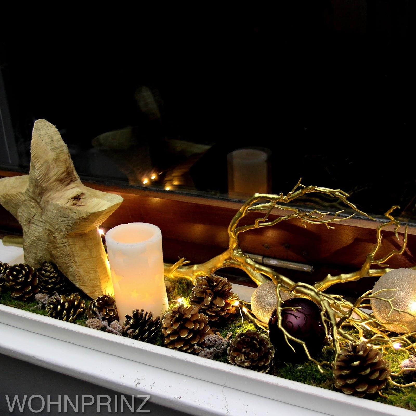 bastian der wohnprinz wohnblogger im videoformat fensterbank weihnachtlich dekorieren. Black Bedroom Furniture Sets. Home Design Ideas