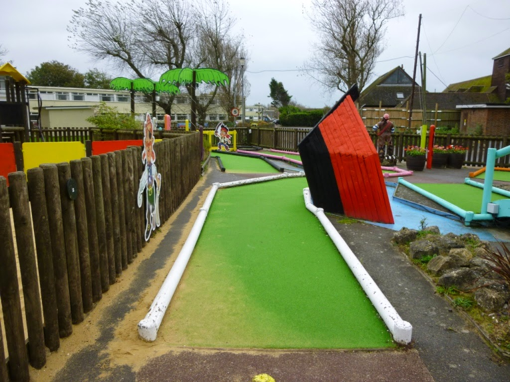 Adventure Golf at Pontins Camber Sands