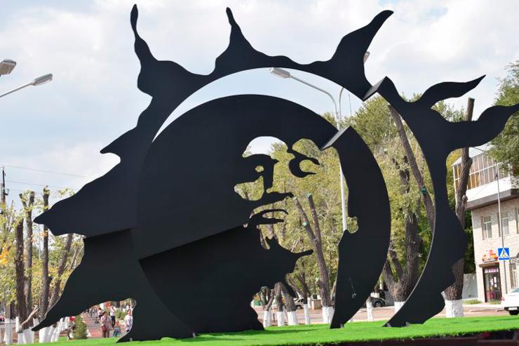 Архитектурно-монументальной композиции посвященной личности В. Цоя