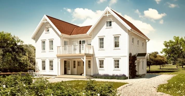 Villa i vitaste vitt