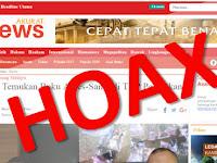 Situs Hoax Akurat.co Pelesetkan Berita Bom: Buku Sandi Jadi Buku Anies-Sandi