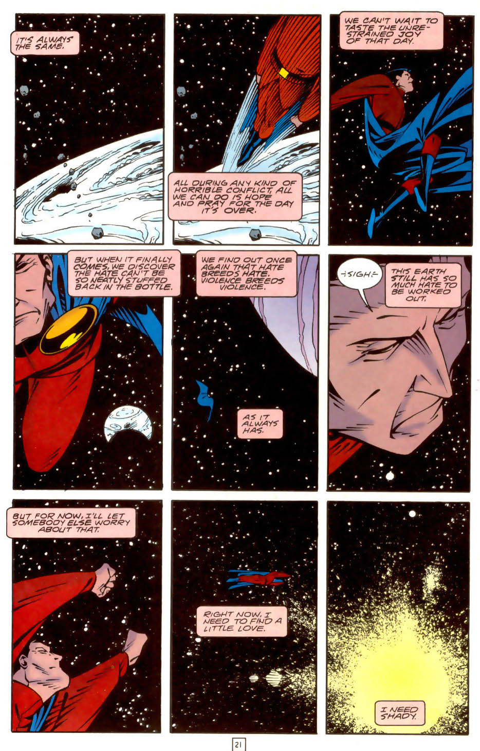 Legion of Super-Heroes (1989) 36 Page 21